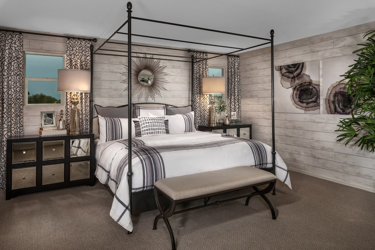 New Homes in Gilbert, AZ - Cobblestone Villas Plan 2267 Master Bedroom