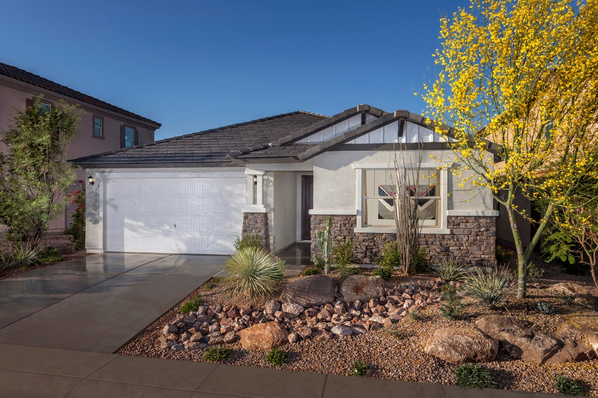 New Homes in Mesa, AZ - Copper Crest Traditional Collection Plan 2543 Exterior