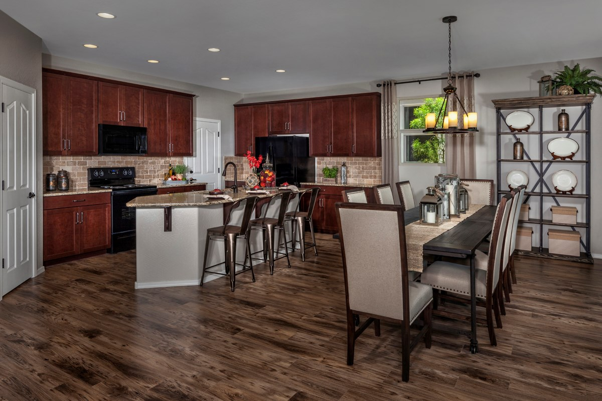 New Homes in Mesa, AZ - Copper Crest Traditional Collection Plan 2849 Kitchen