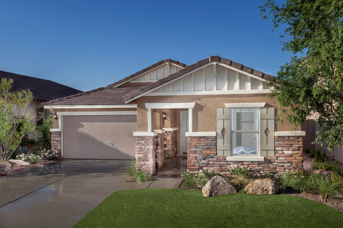 New Homes in Mesa, AZ - Copper Crest Traditional Collection Plan 1678 Exterior