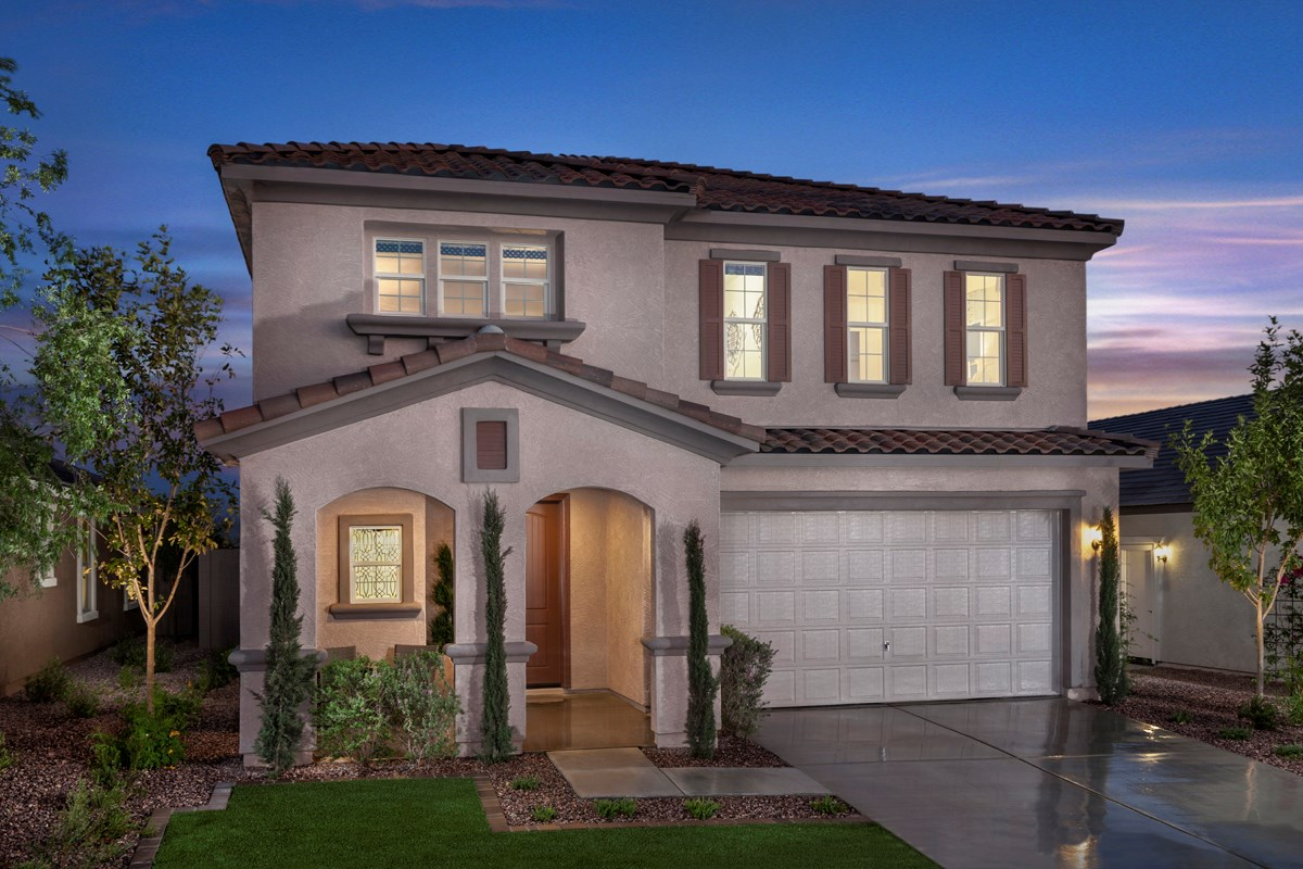 New Homes in Mesa, AZ - Copper Crest Traditional Collection Plan 2275 Exterior