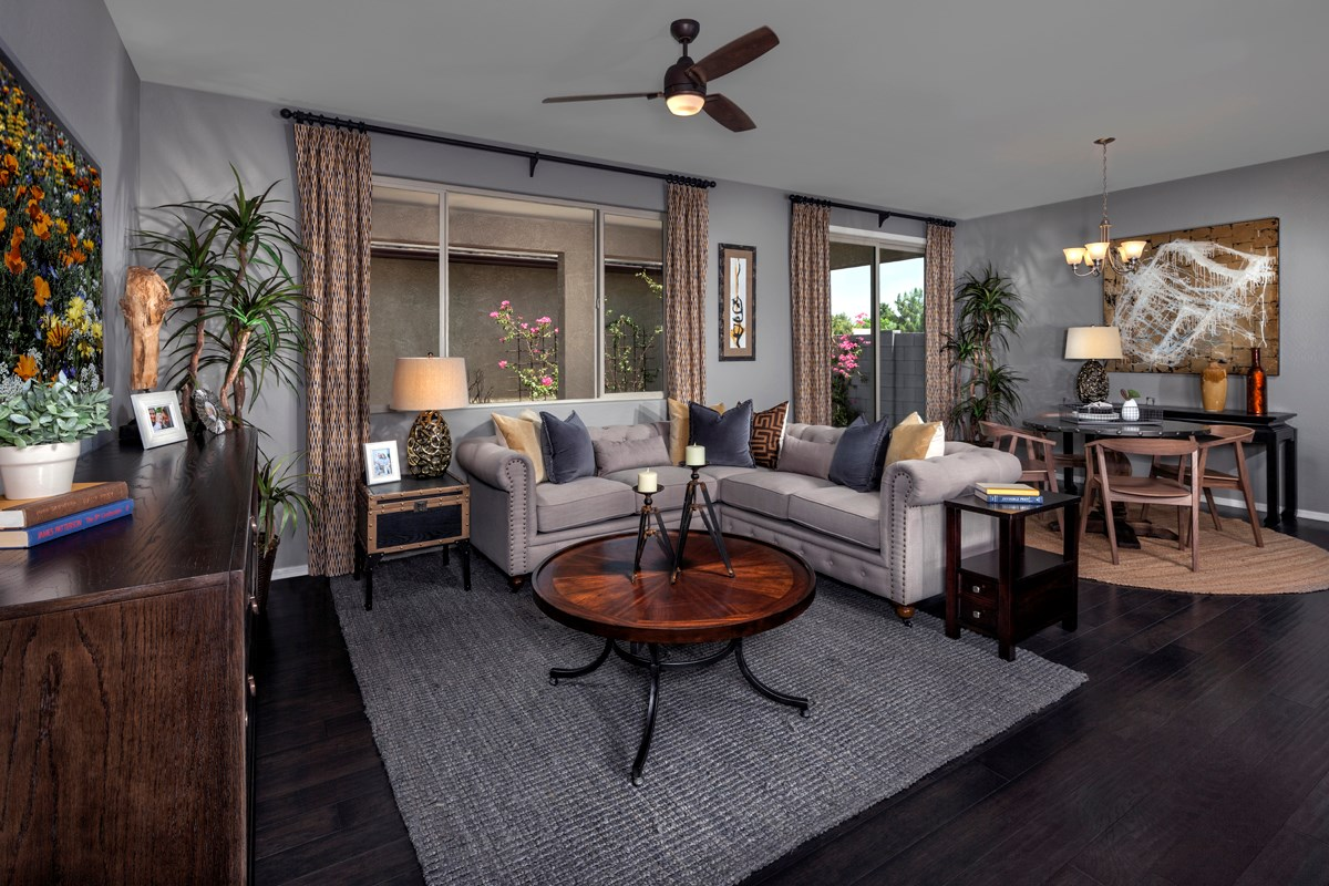 New Homes in Mesa, AZ - Copper Crest Villas Collection Plan 1903 Greatroom