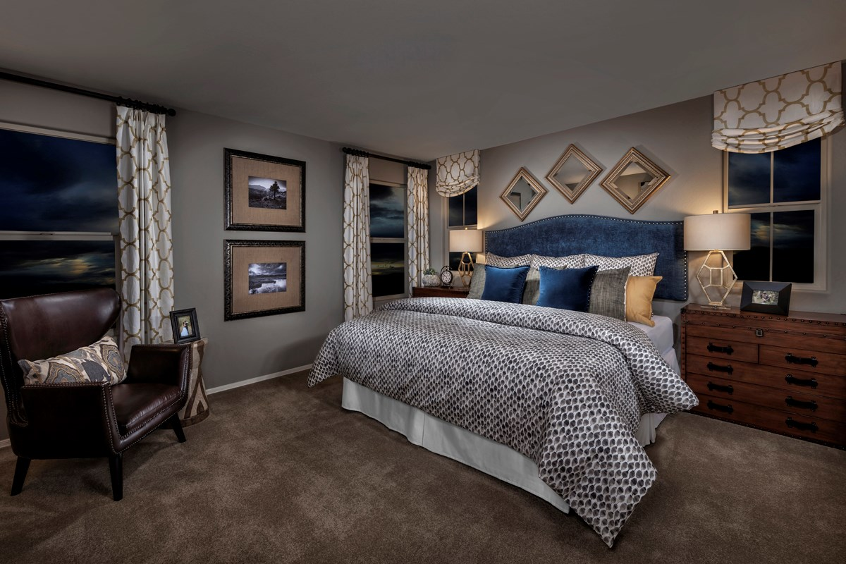 New Homes in Mesa, AZ - Copper Crest Villas Collection Plan 1903 Master Bedroom
