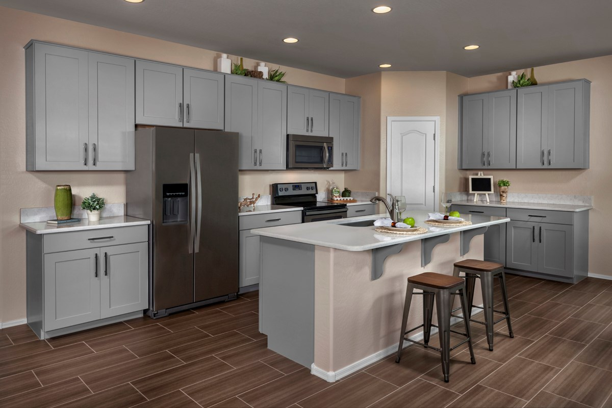 New Homes in Mesa, AZ - Copper Crest Villas Collection Plan 1589 Kitchen