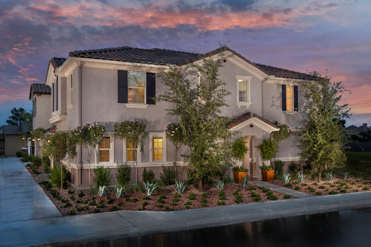 New Homes in Mesa, AZ - Copper Crest Villas Collection Plan 2260 Front Exterior