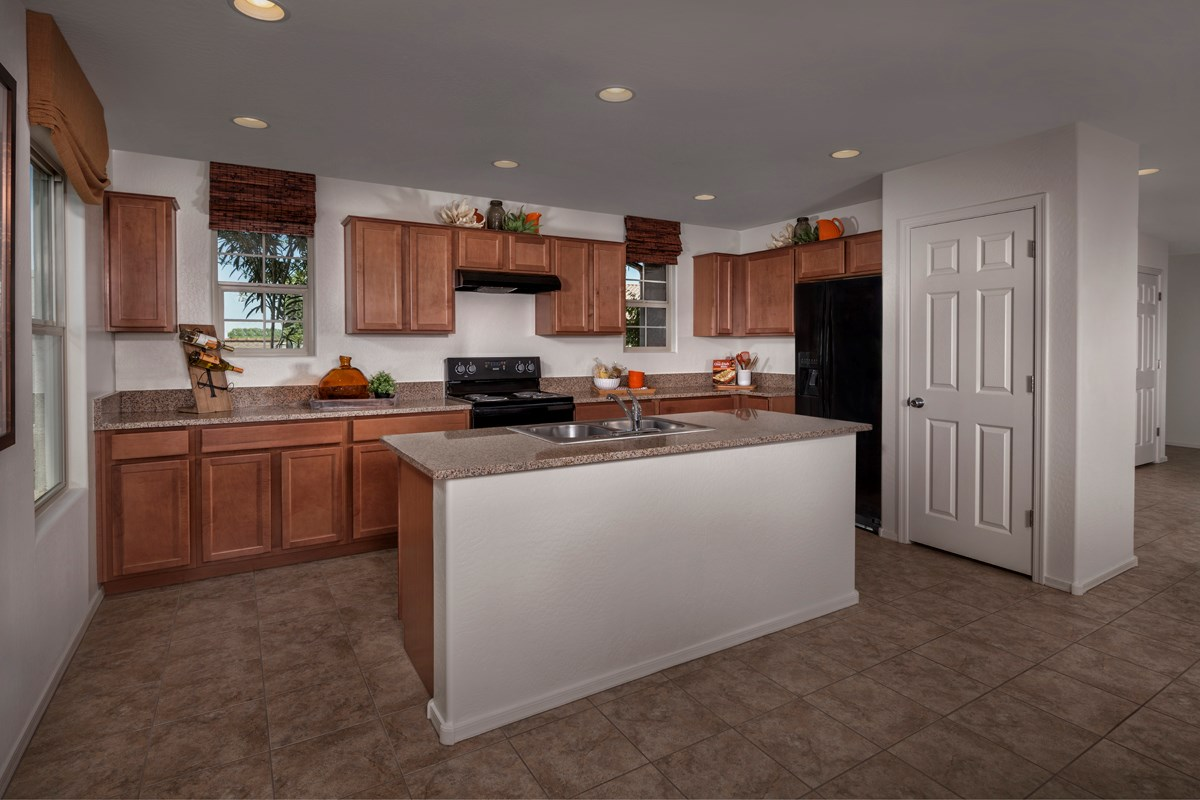 New Homes in Mesa, AZ - Copper Crest Villas Collection Plan 2260 Kitchen