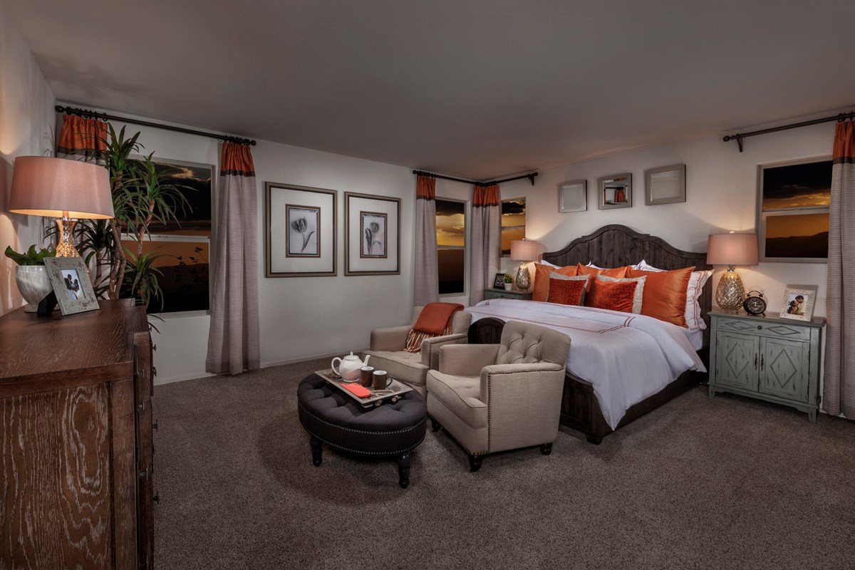 New Homes in Mesa, AZ - Copper Crest Villas Collection Plan 2260 Master Bedroom
