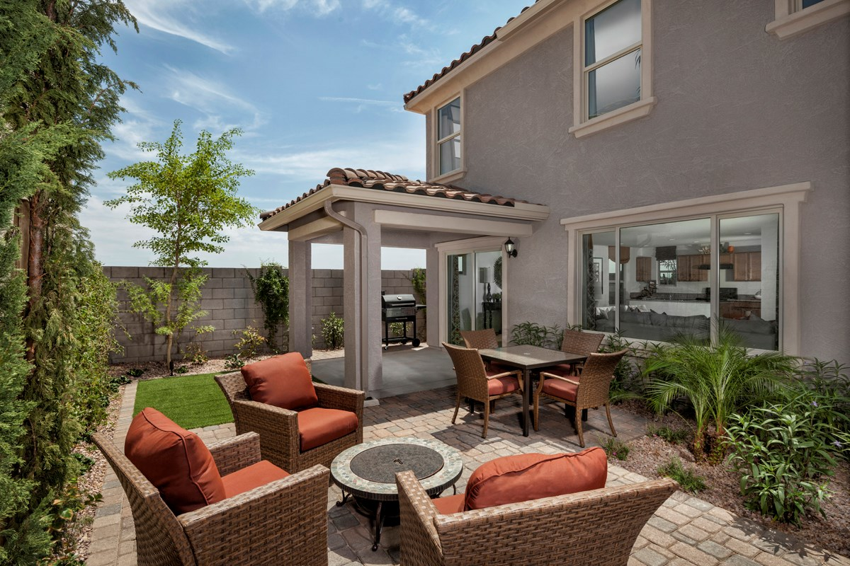 New Homes in Mesa, AZ - Copper Crest Villas Collection Plan 2260 Patio