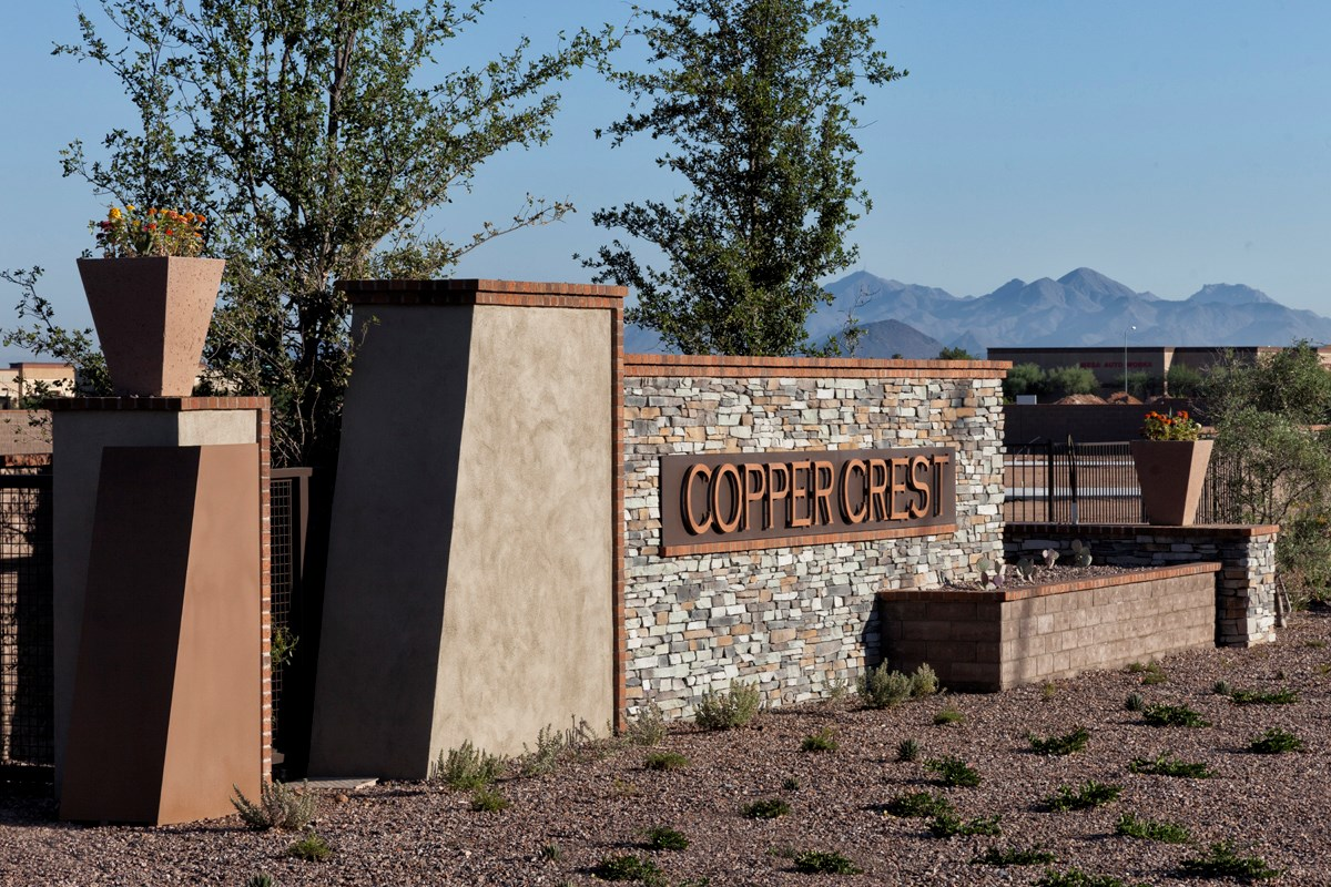 New Homes in Mesa, AZ - Copper Crest Traditional Collection Monument
