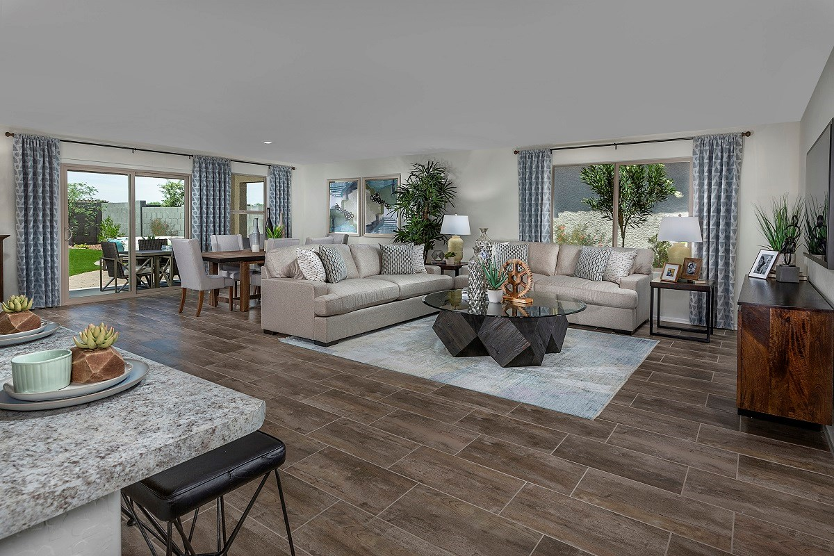 New Homes in Surprise, AZ - Cortana at Desert Oasis Plan 1888 Great Room