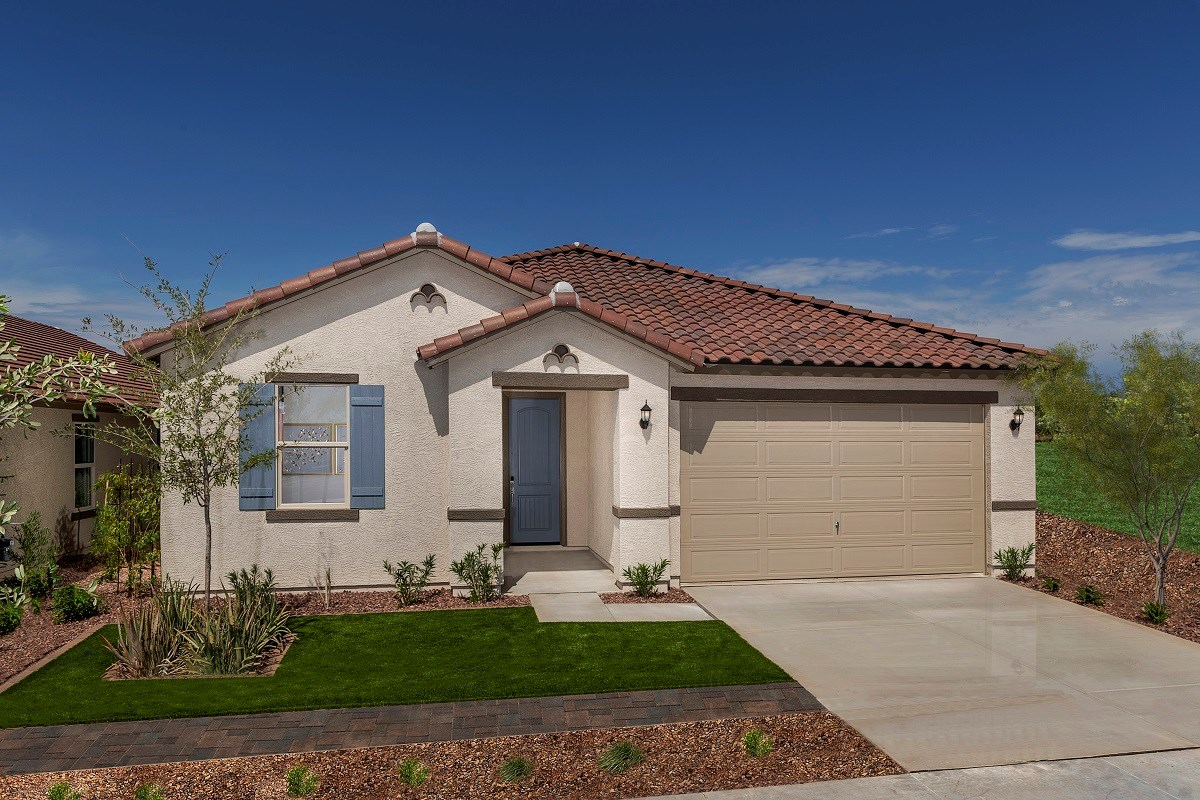 New Homes in Surprise, AZ - Cortana at Desert Oasis Plan 2188 Exterior