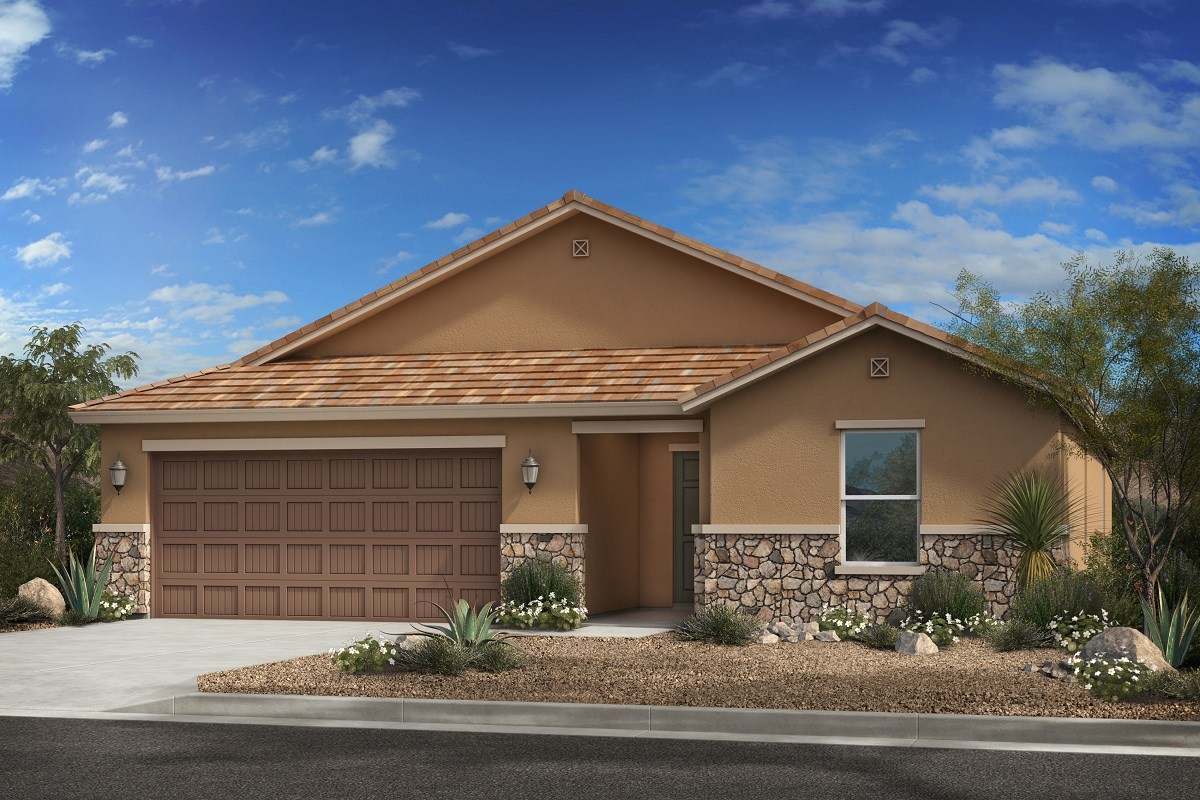 New Homes in Surprise, AZ - Cortana at Desert Oasis Plan 2188 Elevation C