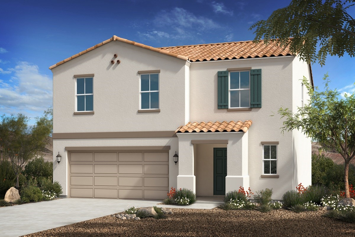 New Homes in Florence, AZ - Crestfield Manor Plan 2030 Elevation A