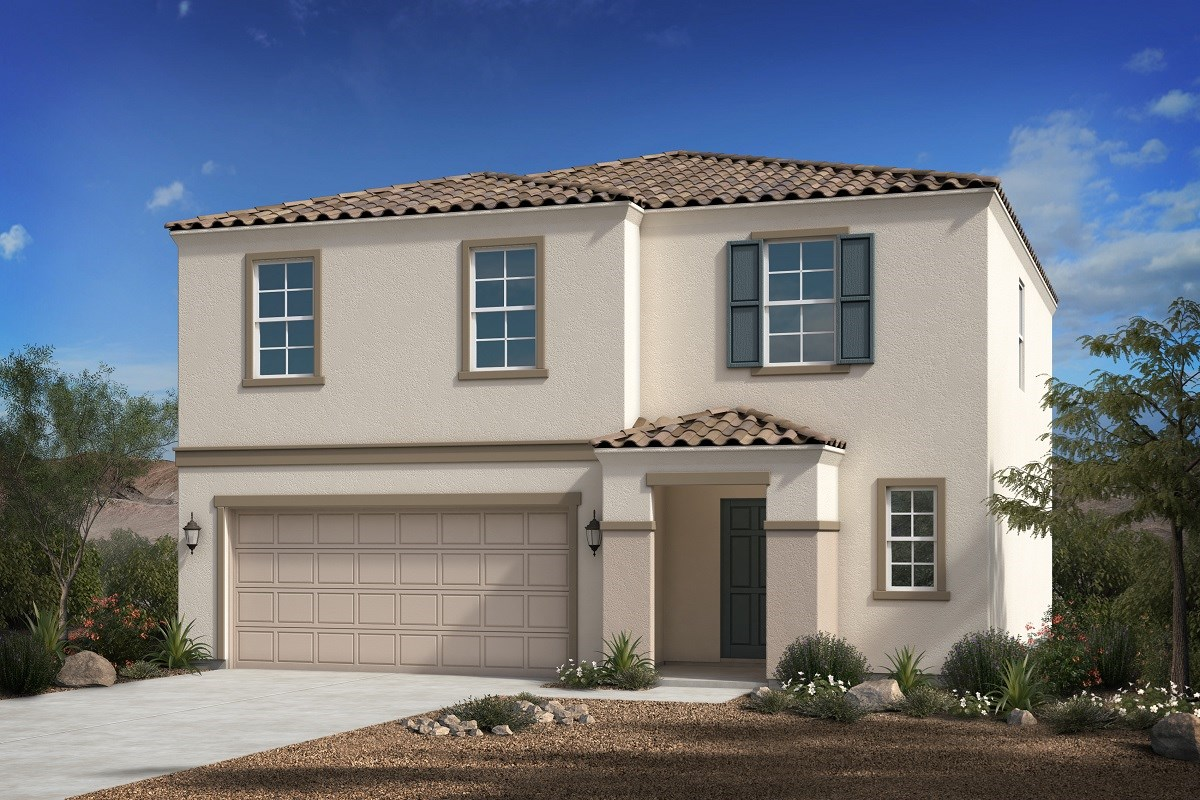 New Homes in Florence, AZ - Crestfield Manor Plan 2030 Elevation B