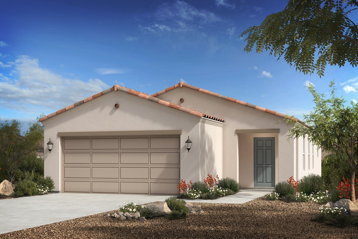 New Homes in Florence, AZ - Crestfield Manor Plan 1238 Elevation A