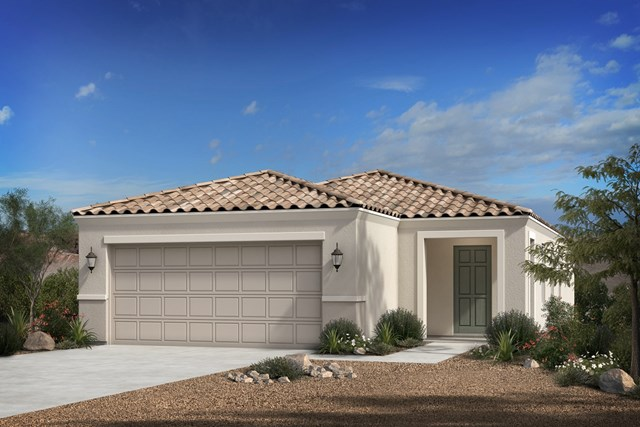 New Homes in Florence, AZ - Plan 1238 Elevation B