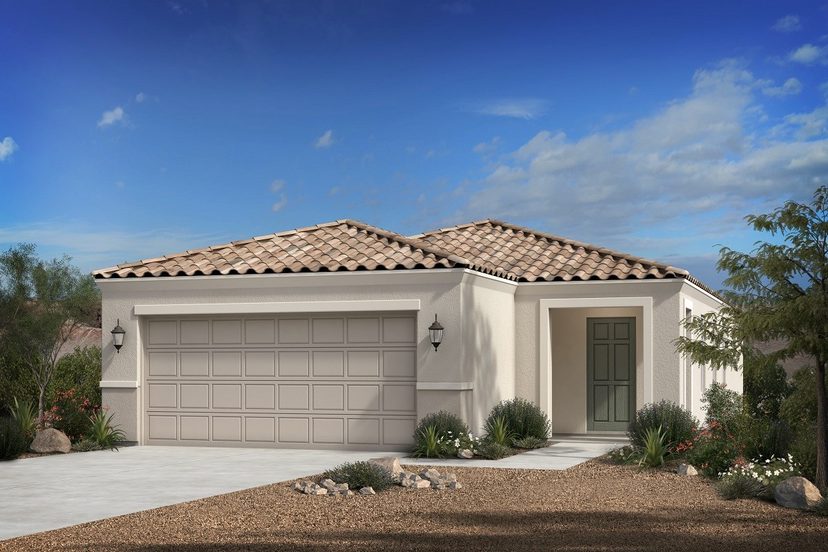 New Homes in Florence, AZ - Crestfield Manor Plan 1238 Elevation B