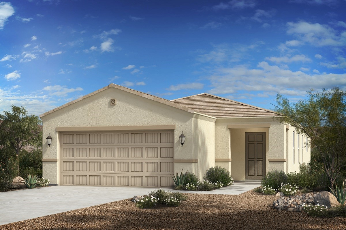 New Homes in Florence, AZ - Crestfield Manor Plan 1238 Elevation C