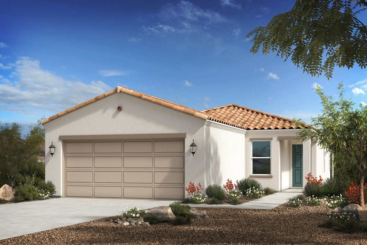 New Homes in Florence, AZ - Crestfield Manor Plan 1465 Elevation A