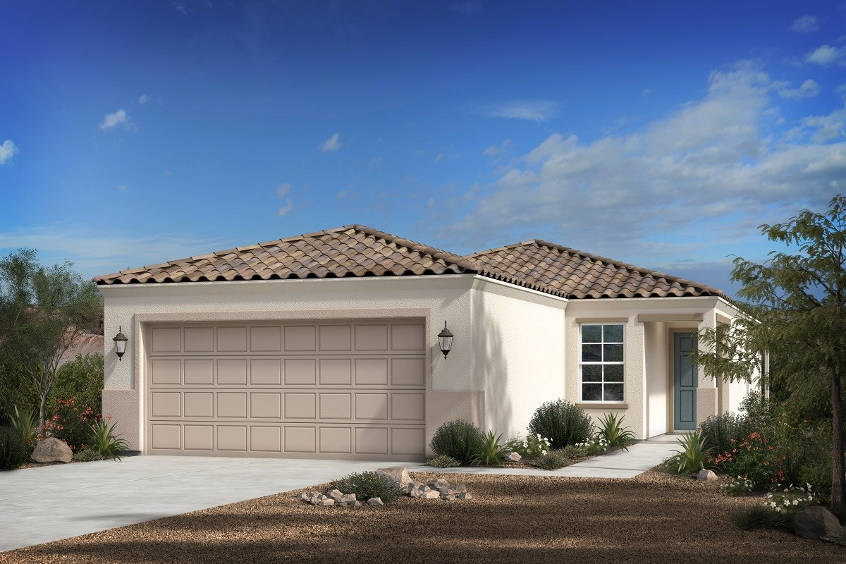New Homes in Florence, AZ - Crestfield Manor Plan 1465 Elevation B