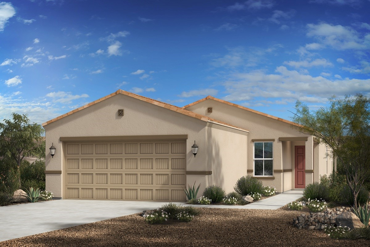 New Homes in Florence, AZ - Crestfield Manor Plan 1465 Elevation C