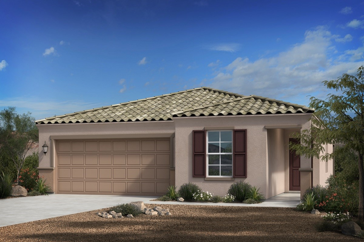 New Homes in Florence, AZ - Crestfield Manor Plan 1547 Elevation B