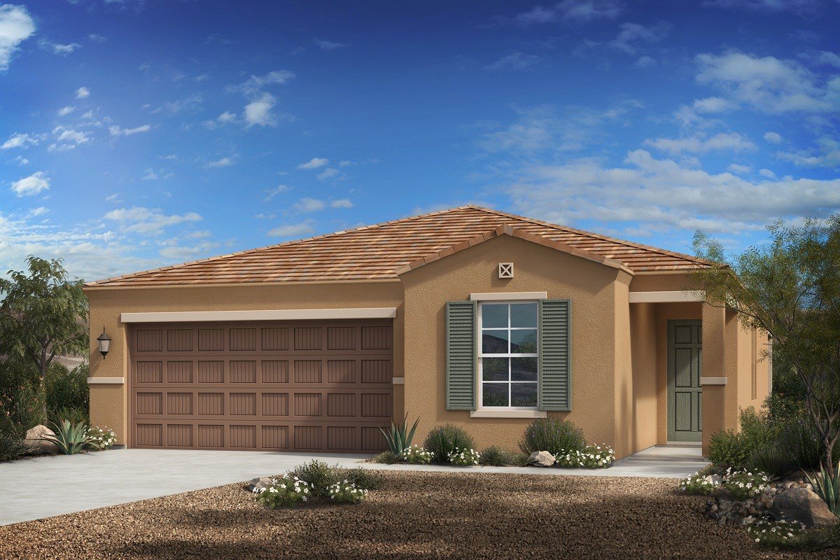 New Homes in Florence, AZ - Crestfield Manor Plan 1547 Elevation C