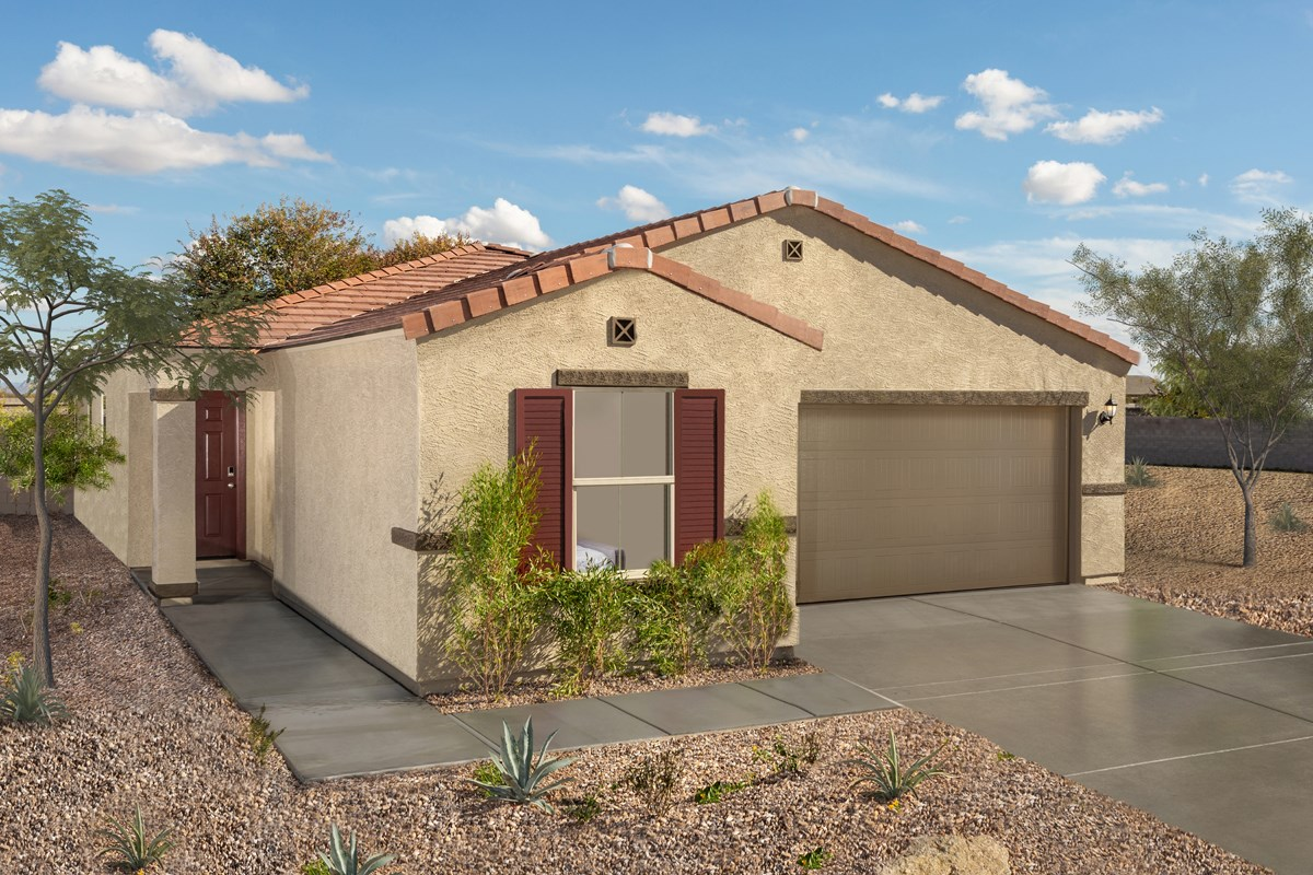 New Homes in Florence, AZ - Crestfield Manor Plan 1849