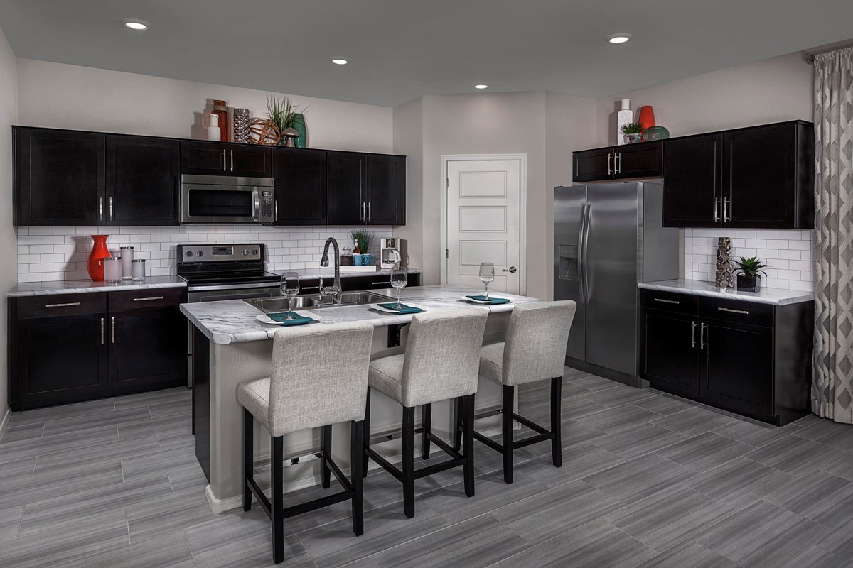 New Homes in Mesa, AZ - Dahlia Pointe Villas  Plan 1903 Kitchen