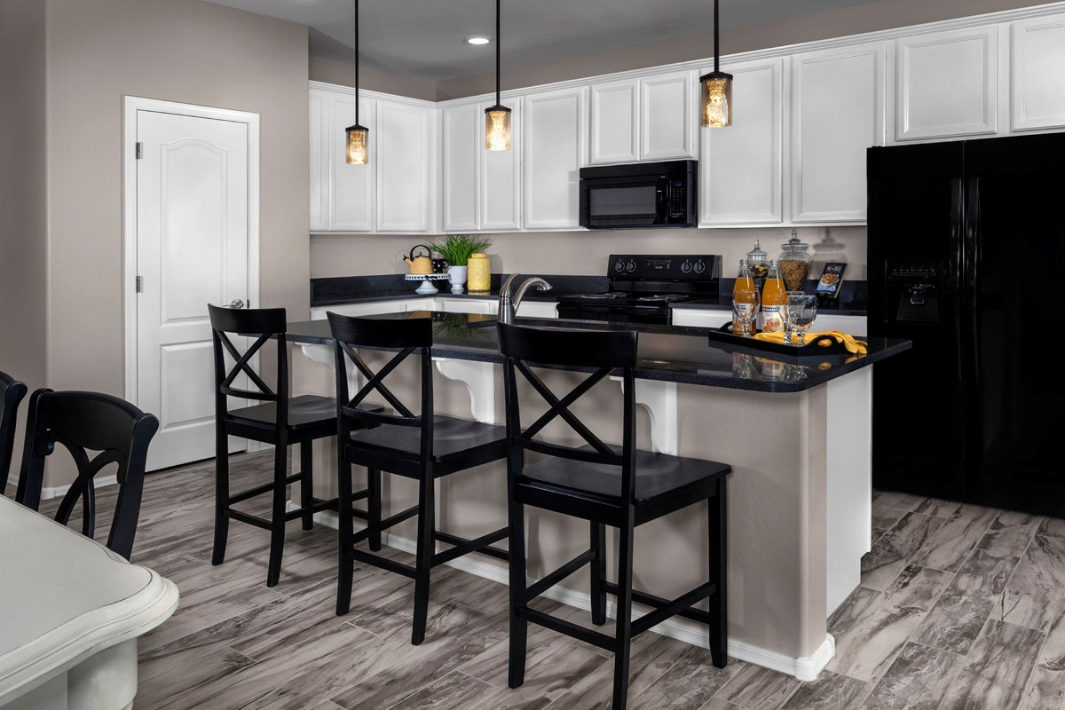 New Homes in Mesa, AZ - Dahlia Pointe Villas  Plan 1712 Kitchen