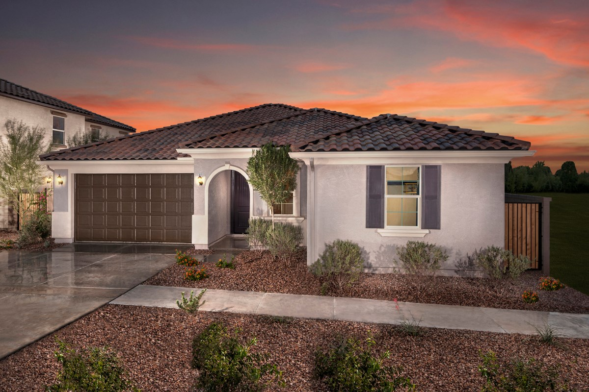 New Homes in Mesa, AZ - Dahlia Pointe Villas  Plan 1712 Exterior