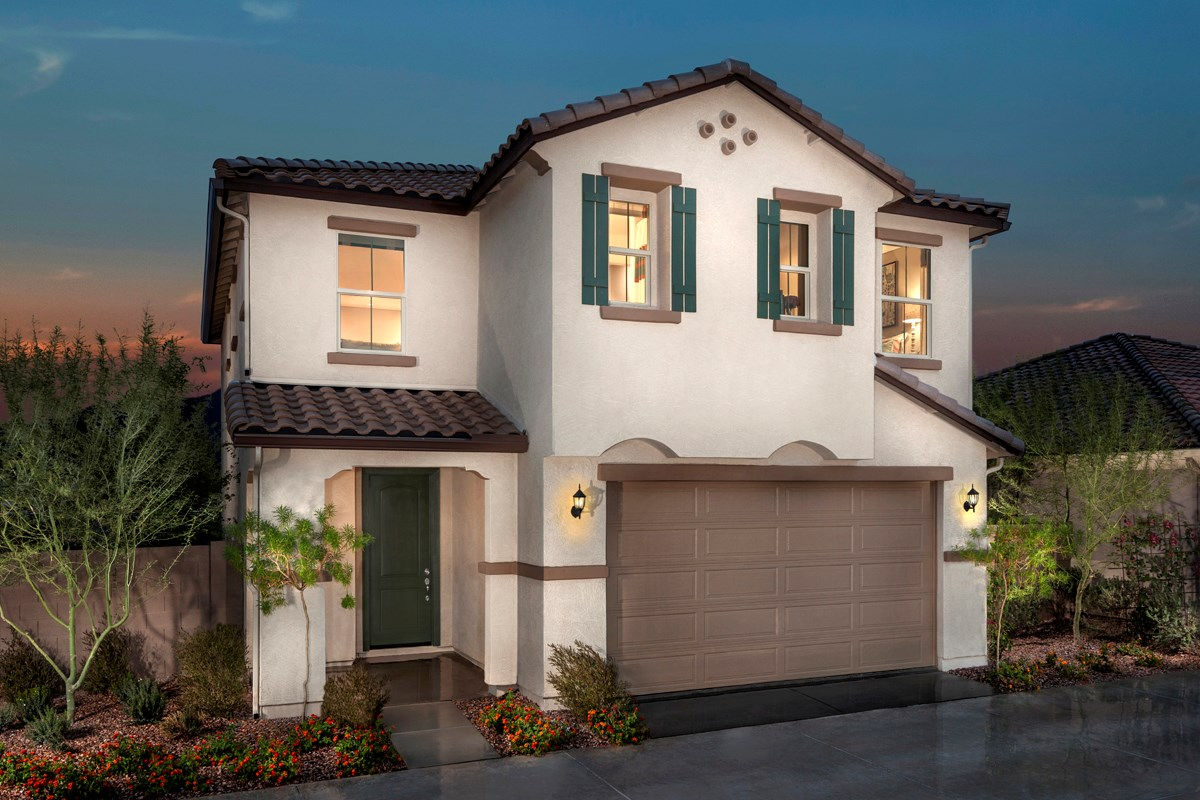 New Homes in Mesa, AZ - Dahlia Pointe Villas  Plan 1903 Exterior