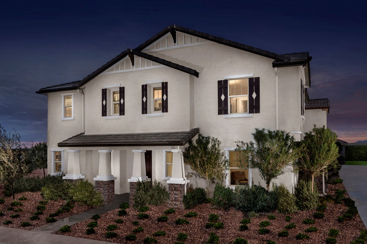 New Homes in Mesa, AZ - Dahlia Pointe Villas  Plan 2180 Exterior