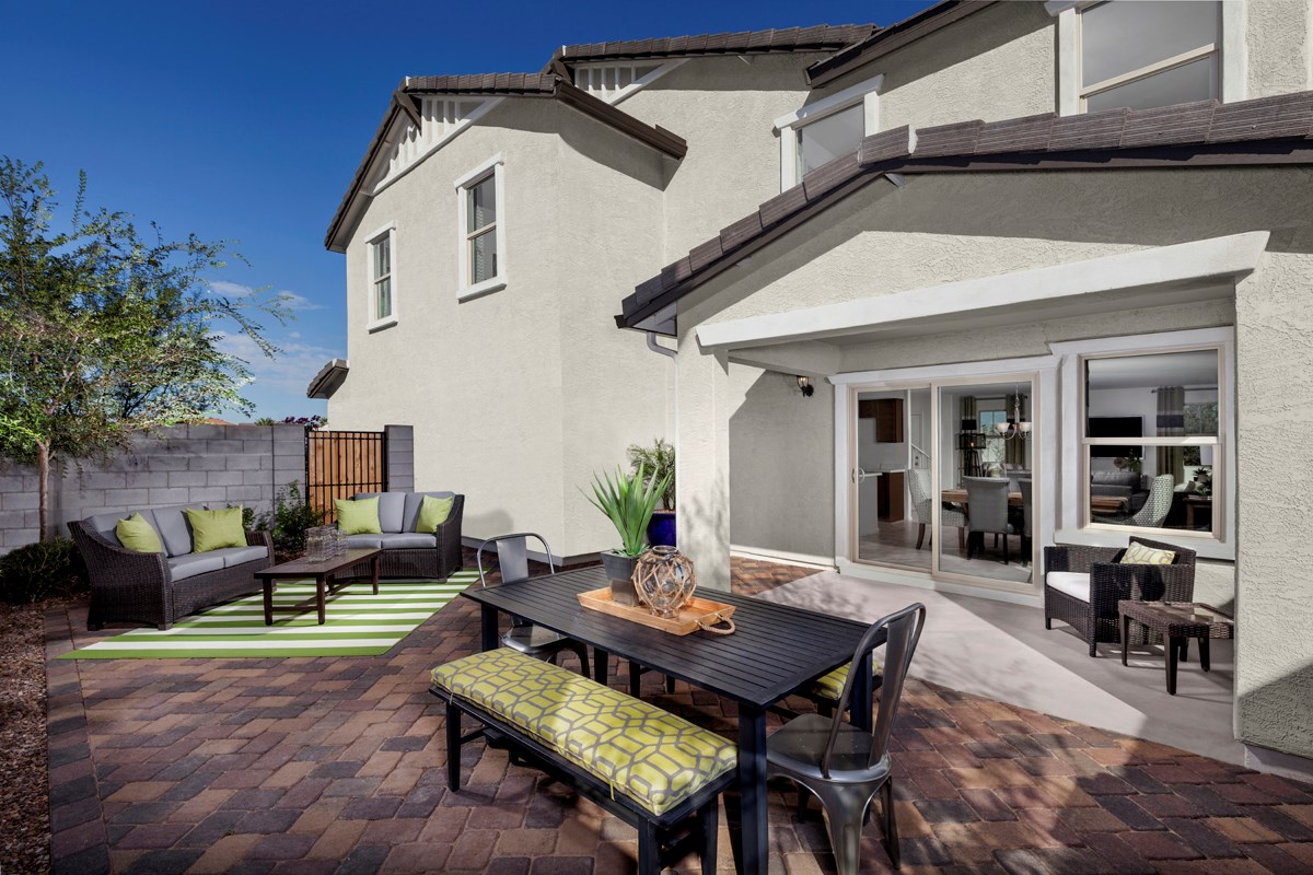 New Homes in Mesa, AZ - Dahlia Pointe Villas  Plan 2180 Patio