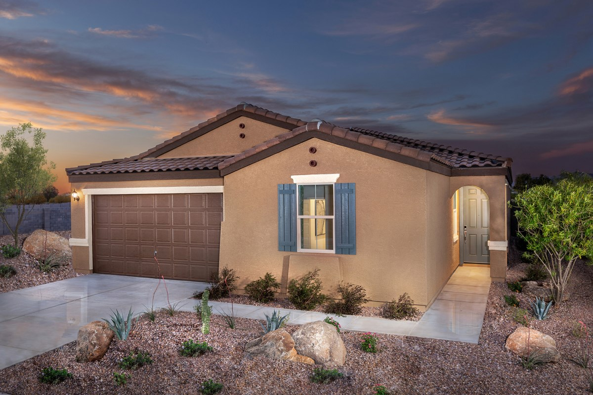 New Homes in Buckeye, AZ - Encantada Estates Plan 2121 Exterior