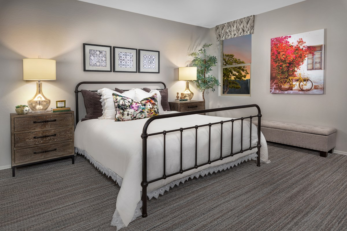 New Homes in Buckeye, AZ - Encantada Estates Plan 2121 Master Bedroom