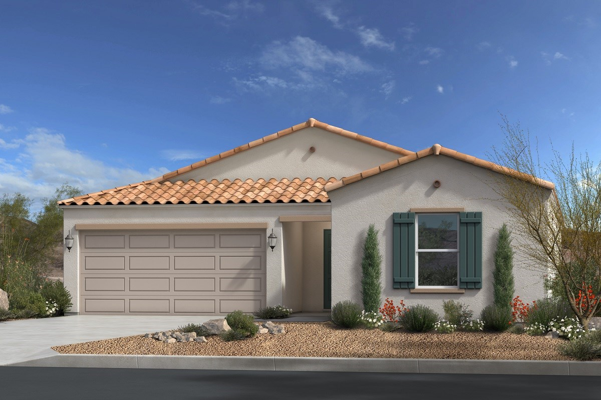 New Homes in Gold Canyon, AZ - Entrada Del Oro Plan 1790 Elevation A