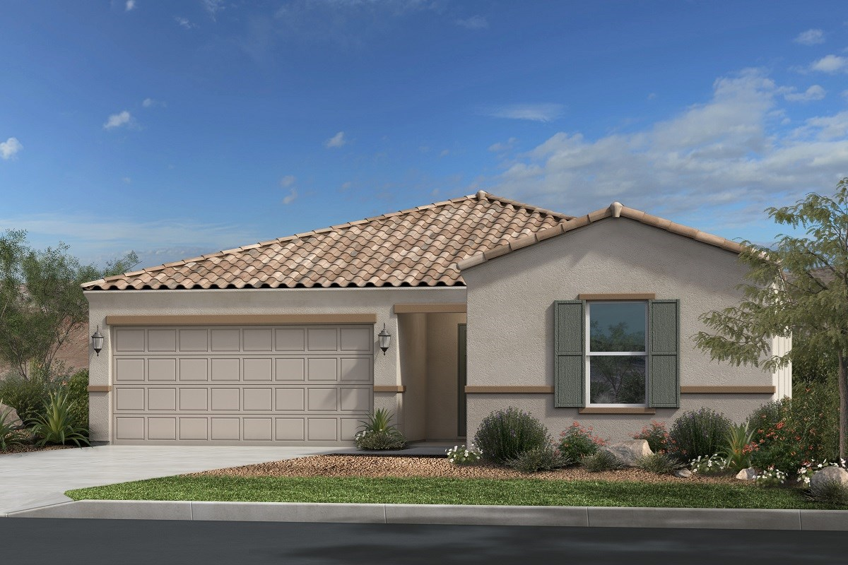 New Homes in Gold Canyon, AZ - Entrada Del Oro Plan 1790 Elevation B