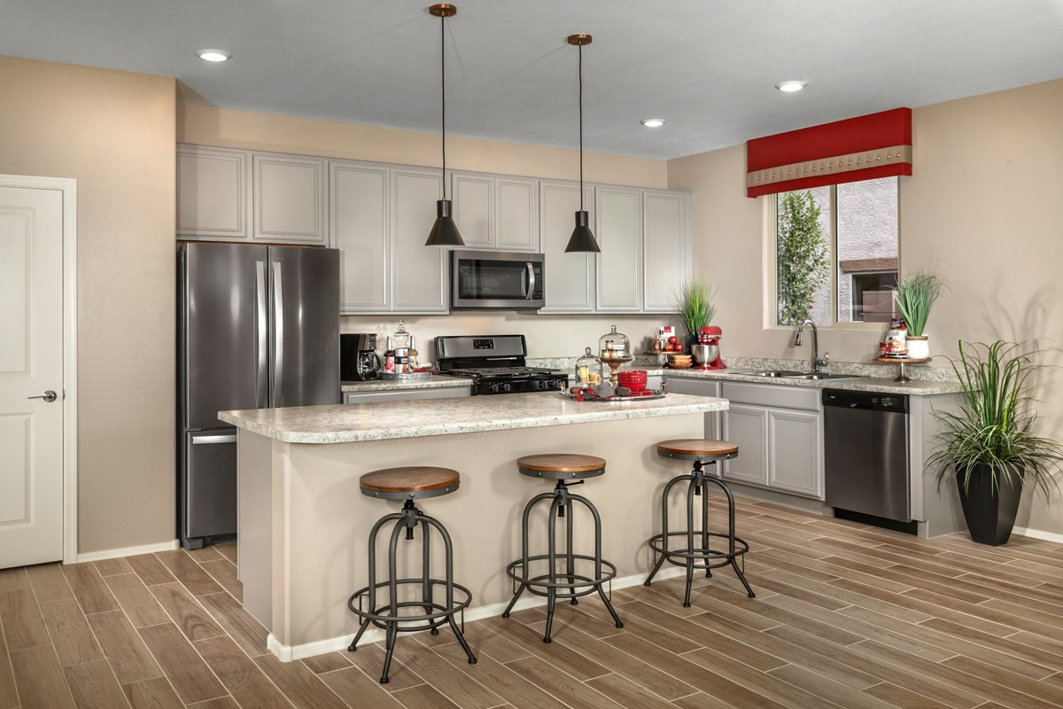 New Homes in Maricopa, AZ - Homestead II Plan 2096 Kitchen