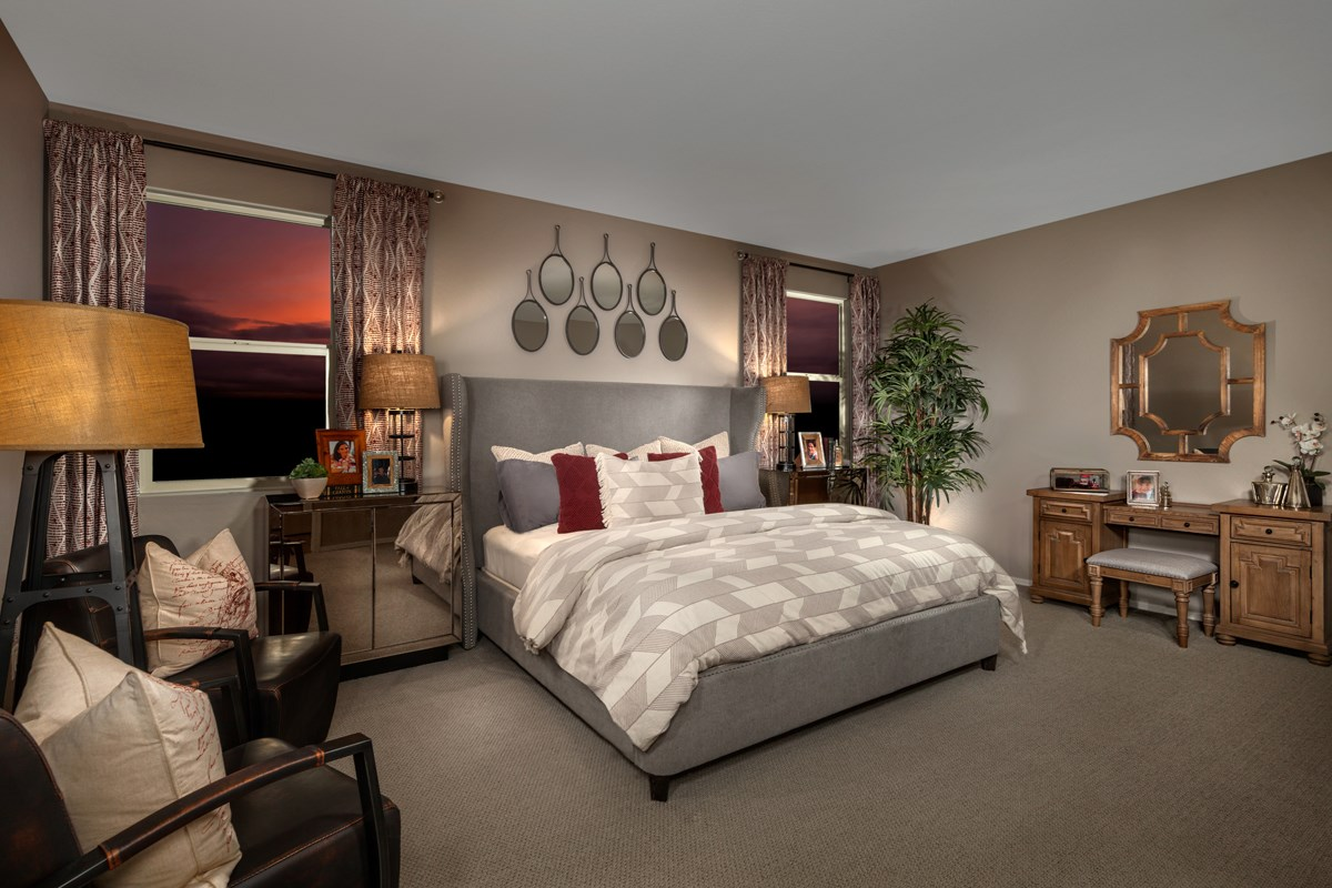 New Homes in Maricopa, AZ - Homestead II Plan 2096 Master Bedroom