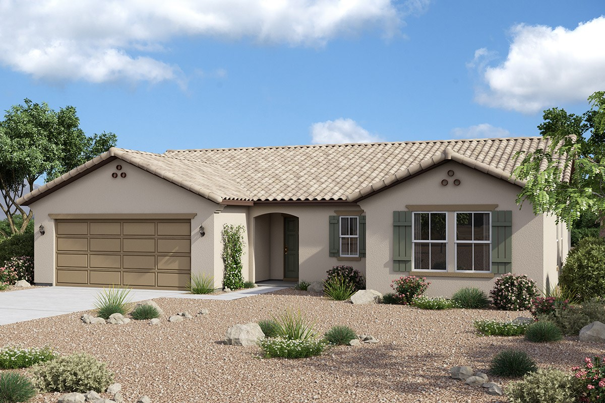 New Homes in Maricopa, AZ - Homestead II Plan 1860 Elevation A