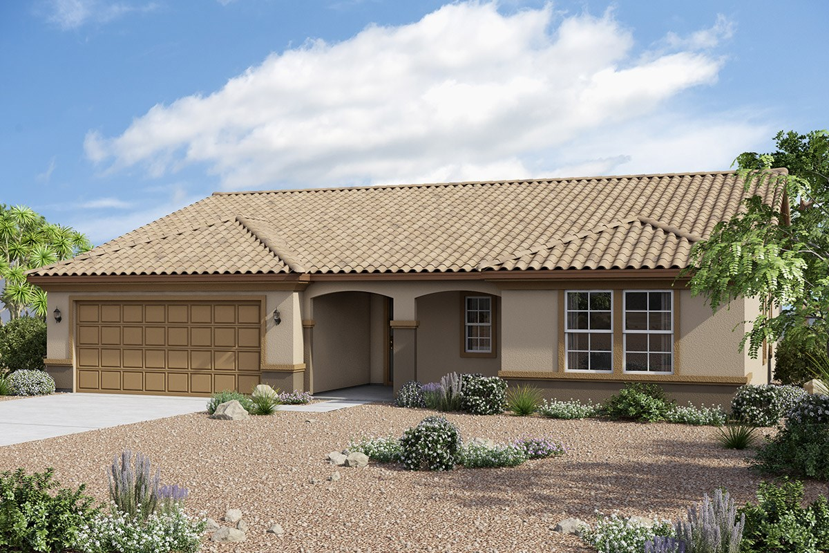 New Homes in Maricopa, AZ - Homestead II Plan 1860 Elevation B
