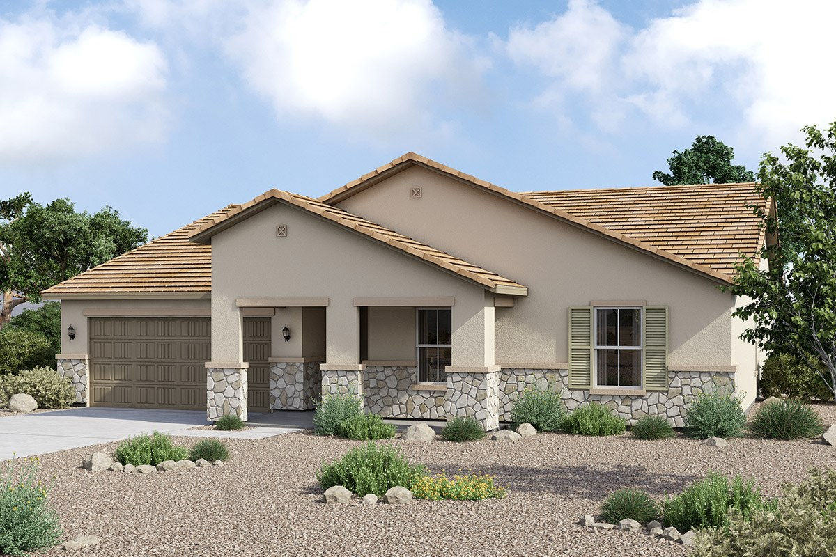 New Homes in Maricopa, AZ - Homestead II Plan 2301 Tuscan 'C'