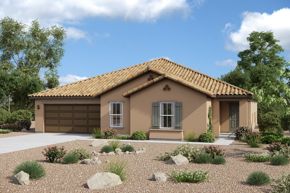 New Homes in Maricopa, AZ - Homestead II Plan 2634 Elevation A