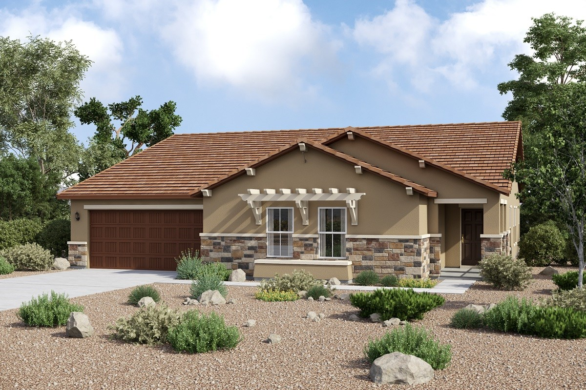 New Homes in Maricopa, AZ - Homestead II Plan 2634 Elevation C