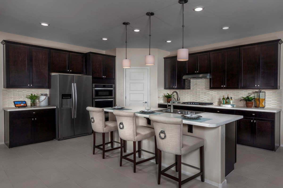 New Homes in Maricopa, AZ - Homestead Plan 2347 Kitchen