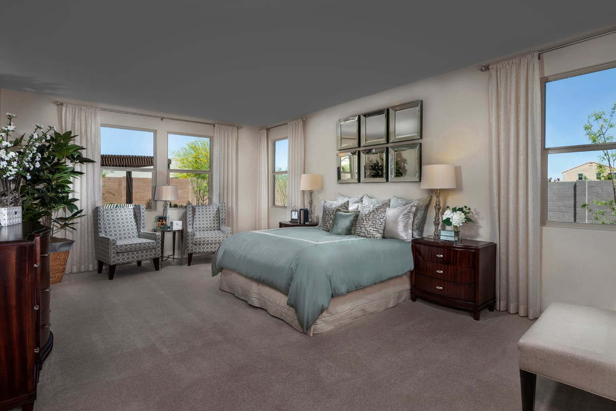 New Homes in Maricopa, AZ - Homestead Plan 2347 Master Bedroom