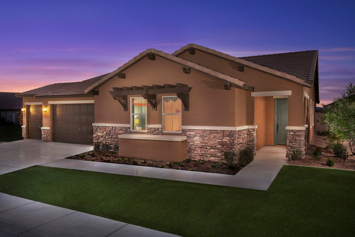 New Homes in Maricopa, AZ - Homestead Plan 2643 Exterior