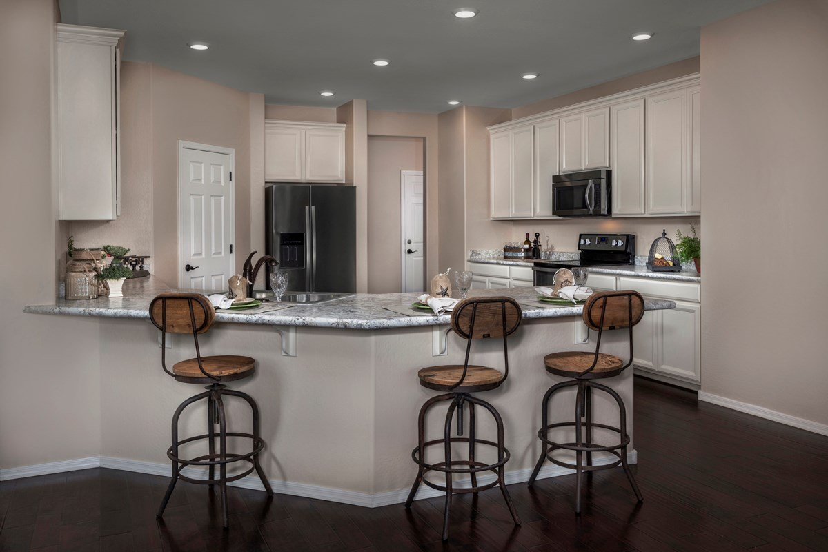 New Homes in Maricopa, AZ - Homestead Plan 2643 Kitchen