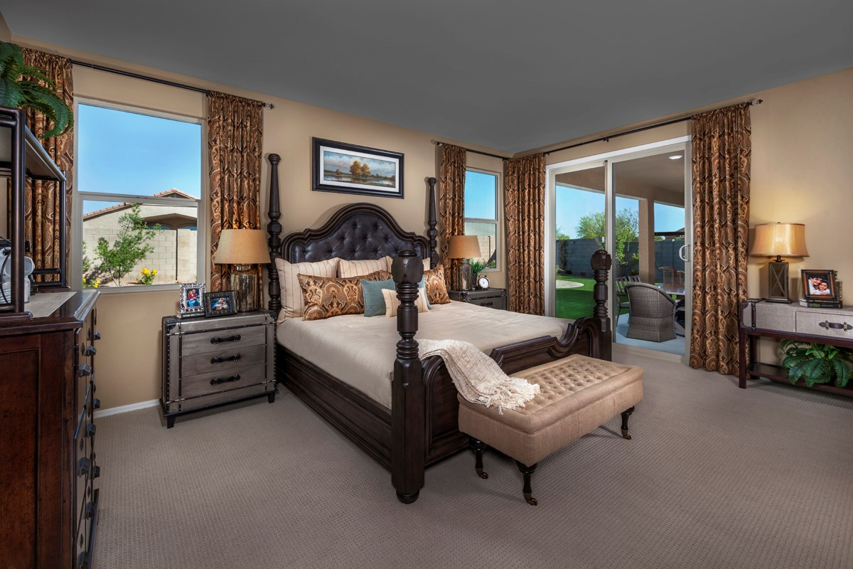 New Homes in Maricopa, AZ - Homestead Plan 2643 Master Bedroom